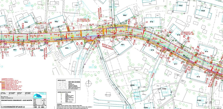 CENTROPROJEKT připravil projekt rekonstrukce komunikace Mostní ve Zlíně
