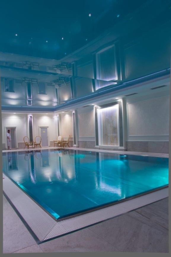 Rekonstrukce bazénů v hotelu Richmond