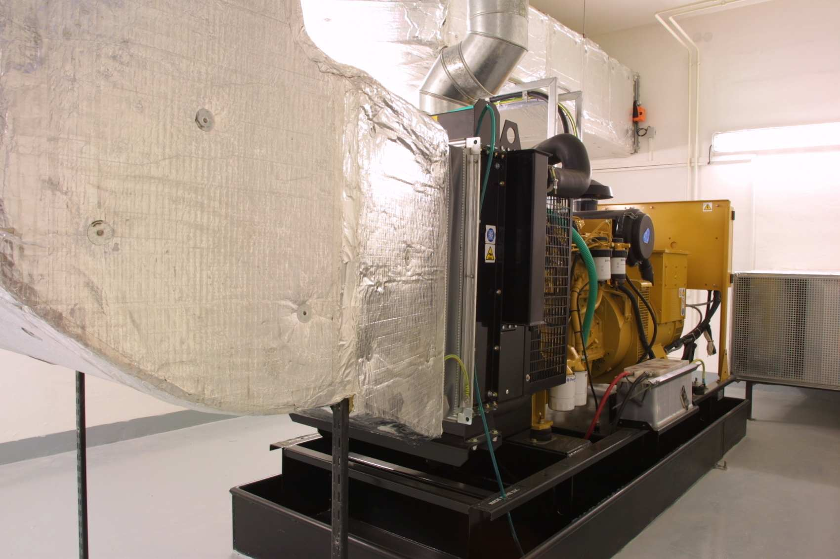 Projekt nouzového zdroje eletrické energie pro budovu soudu ve Zlíně