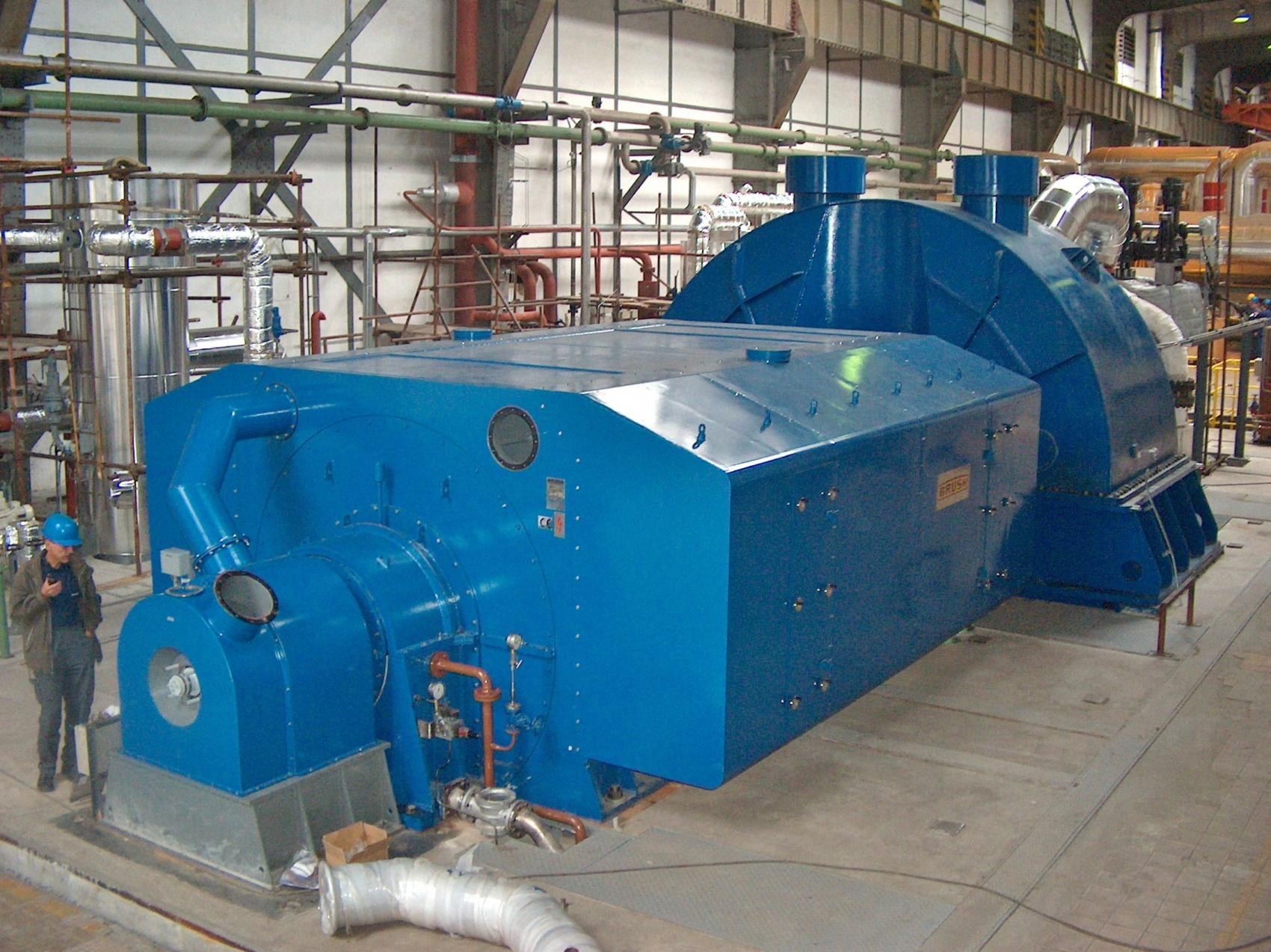 72 MW Turbine Generator Set
