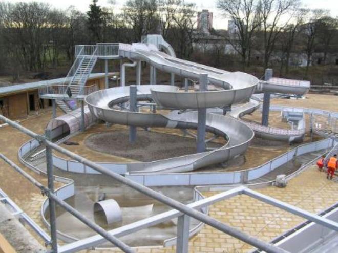 Projekt aquaparku Flošna v Hradci Králové