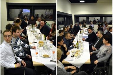 Vánoční večírek v roce 2015 měla zlínská projektová kancelář Centroprojekt na sile NWT