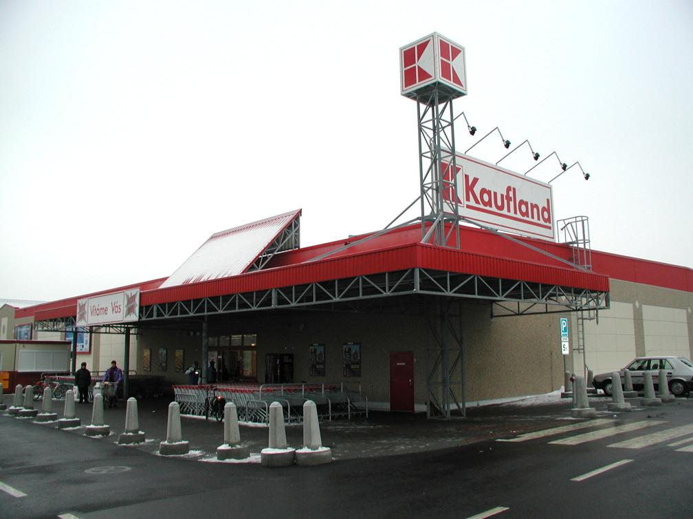 Projekt hypermarketu Kaufland v Kopřivnici