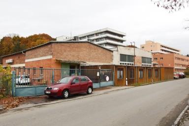 Projekt demolice budov v areálu zlínské nemocnice