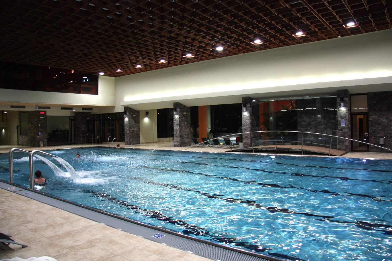 Rekonstrukce bazénové haly, bazénových technologií v Grand Hotelu Permon