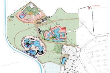 Projekt bazénové technologie v aquaparku Polný Kesov, SK
