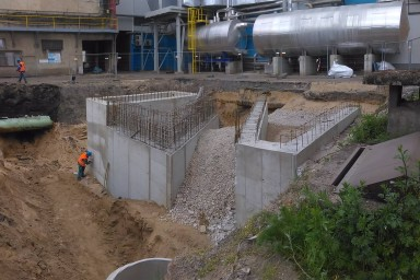 Projekt a stavba stáčiště chemikálií pro Lovochemii v Lovosicích