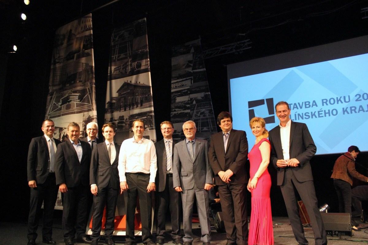 Kolegové z Centroprojektu na Stavbě roku Zlínského kraje