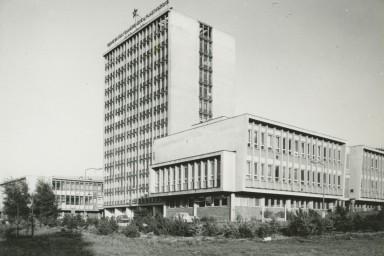 Projekt budovy VÚGPT ve Zlíně
