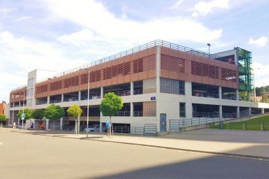 Parking house in Zlin