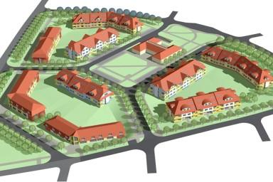 Projekt bytových domů Dolní Počernice
