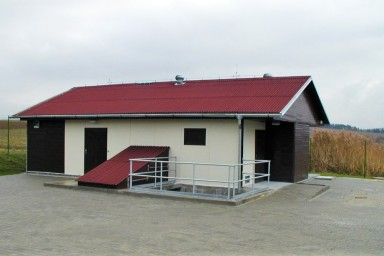 Projekt ČOV pro obec Loučka