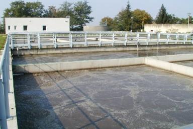 Rekonstrukce ČOV v Michalovcích na Slovensku