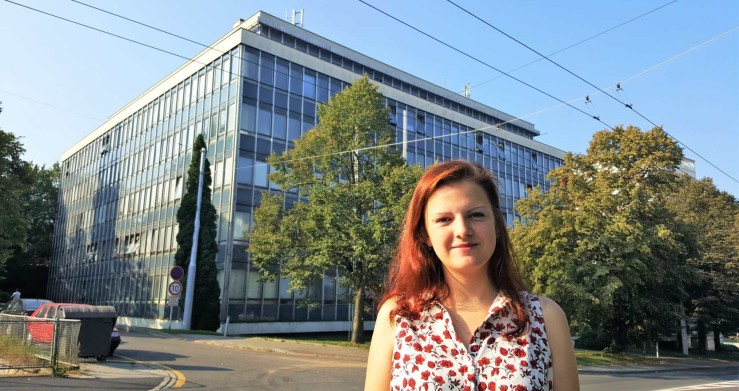 Pracovní léto v Centroprojektu - Petra Michalíková na architektonické brigádě