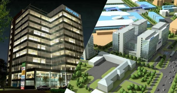 V přípravě: Administrativní a hotelové centrum v Kyjevě