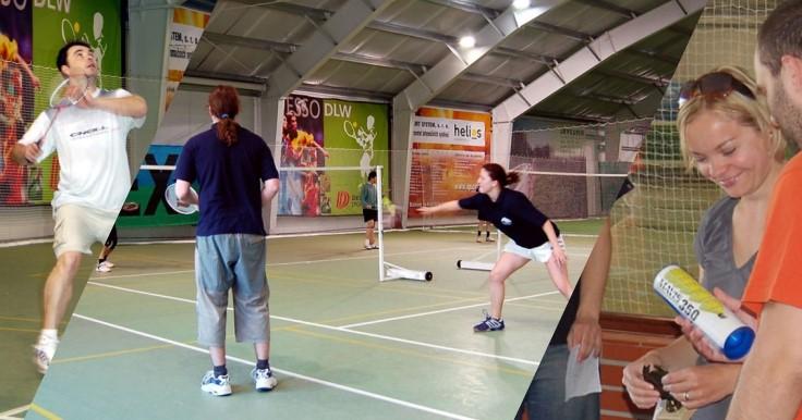 Opeřený míček 2008: badmintonový turnaj pro kolegy