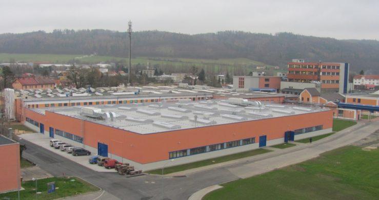 Další projekt realizován, tentokrát výrobní hala v Odrách
