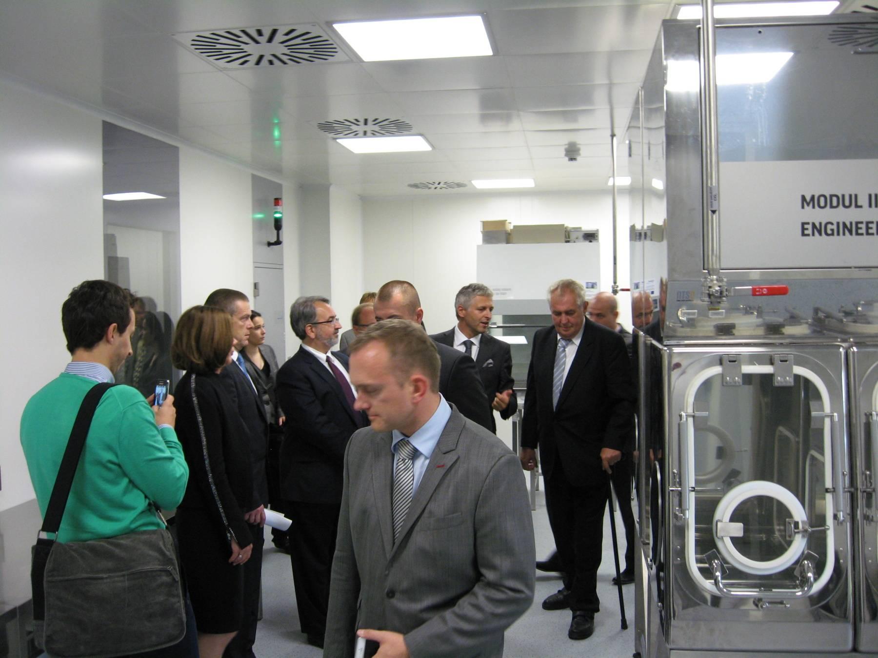 Vědeckovýzkumné biomedicínské a aplikační centrum 4MEDI se otvírá