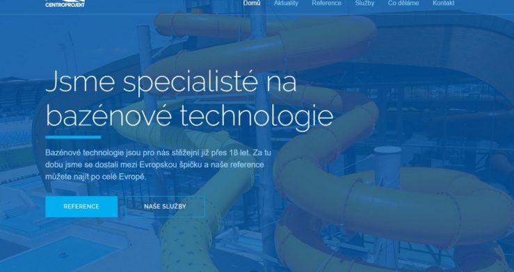 130 referencí bazénářů. Vše na bazeny.centroprojekt.cz