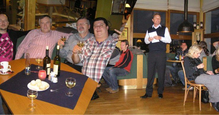 Vánoční večírek 2011 v restauraci Devítka ve Zlíně