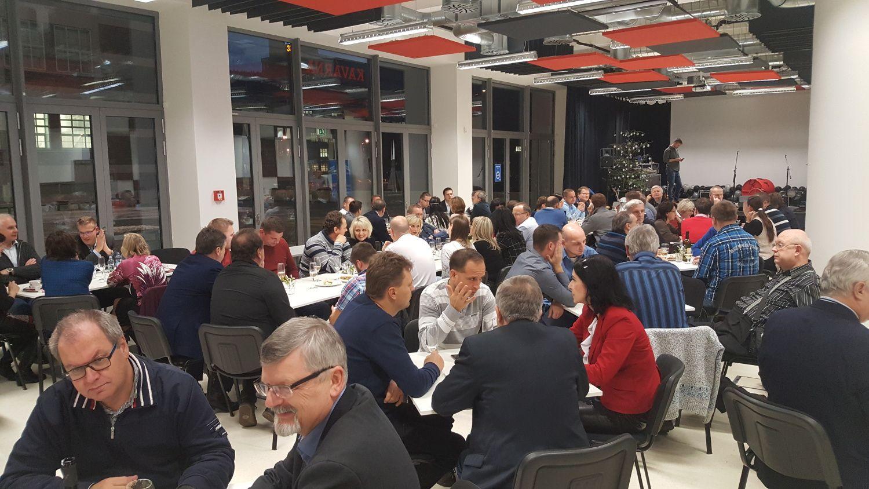 Vánoční večírek 2016 Centroprojektu v Baťově institutu