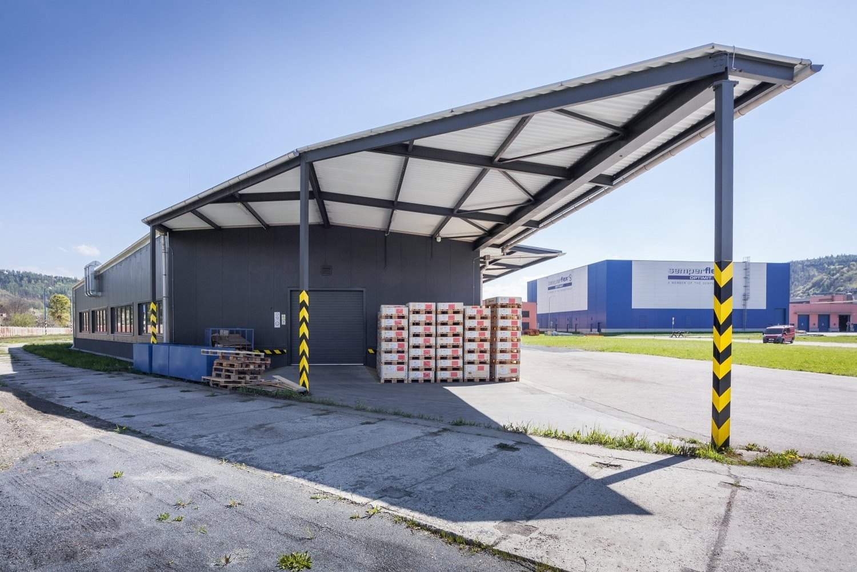 Projekt haly pro Semperflex Optimit