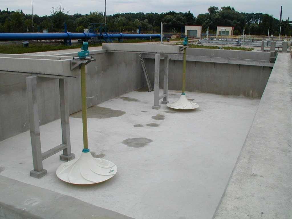 Invent: míchadla na ČOV v Mladé Boleslavi