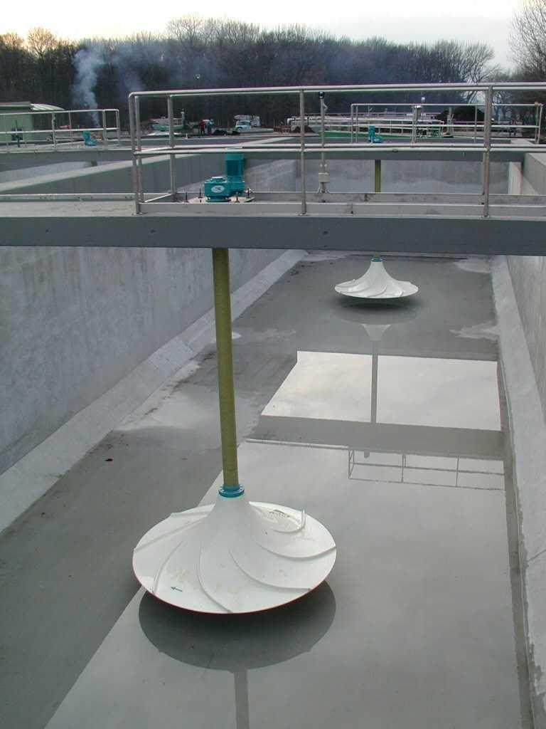 Invent: míchadla na ČOV v Uherském Hradišti
