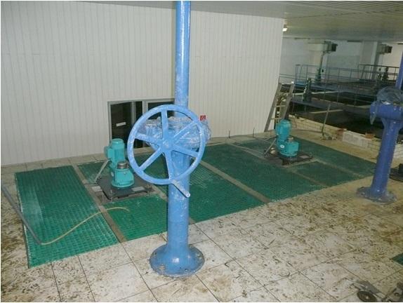 Invent: míchadlo na úpravně vody v Nové Bystrici