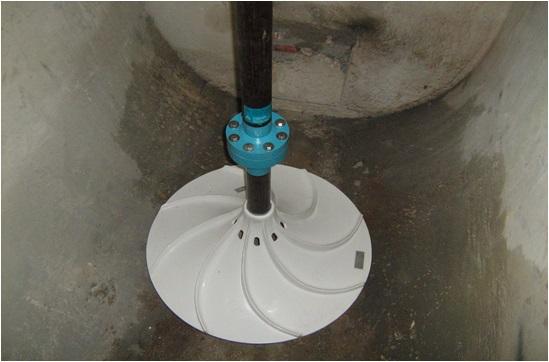 Invent: míchadlo v úpravně vody ve Starině