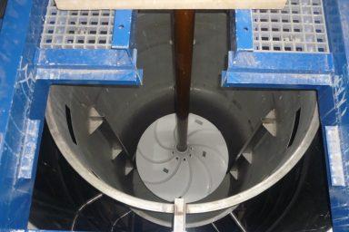 Invent: míchadlo v úpravně vody ve Strání