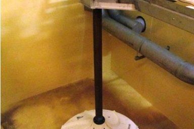 Invent: míchadla na úpravně vody ve Svaté Trojici